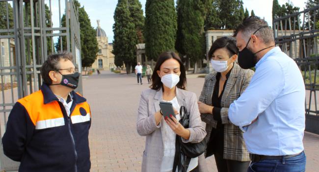 El Cementiri ultima el dispositiu per rebre visitants l'1 de novembre amb mesures especials de prevenció i seguretat