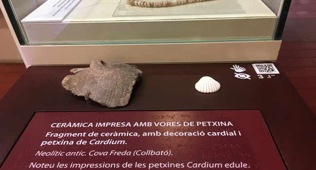 El Museu d'Història incorpora uns mòduls per fer més accessible l'exposició permanent a les persones invidents