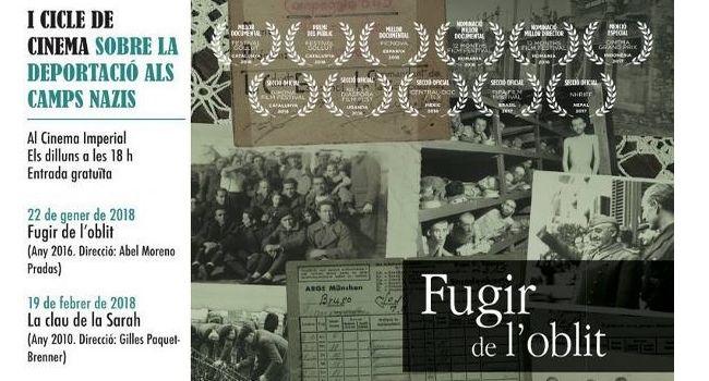 I Cicle de Cinema sobre la Deportació als Camps Nazis