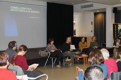 El Consell d'Entitats Ciutat i Escola fa balanç del curs 2015-2016 coincidint amb la renovació del compromís de Sabadell com a Ciutat Educadora