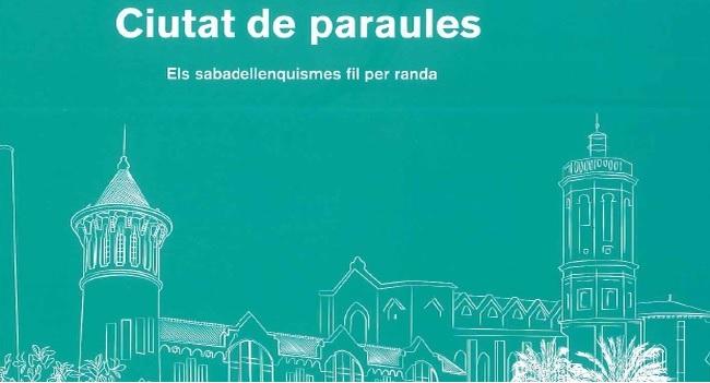 Presentació d'un llibret amb paraules pròpies de Sabadell
