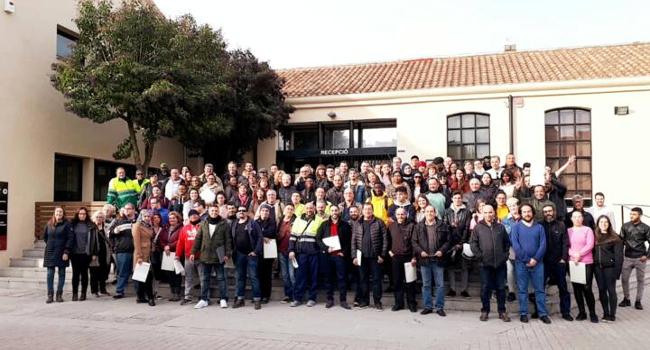 Un total de 180 participants en plans d'ocupació han fet obres i serveis d'interès general i social a la ciutat