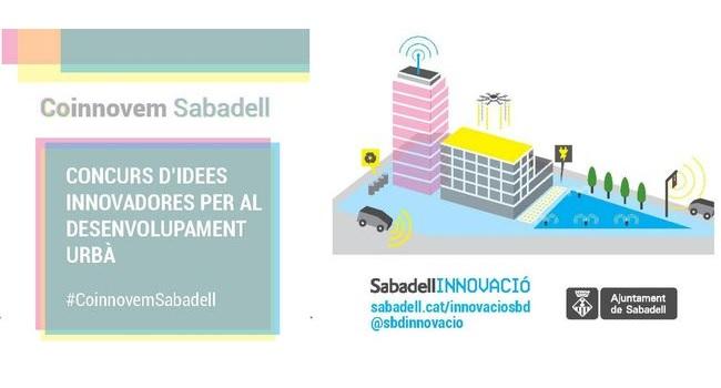Presentada la 2ª edició del concurs Coinnovem Sabadell, d'idees innovadores pel desenvolupament urbà