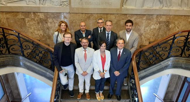 Reunió amb el Col·legi de l'Advocacia de Sabadell per tractar les mancances de l'edifici dels jutjats