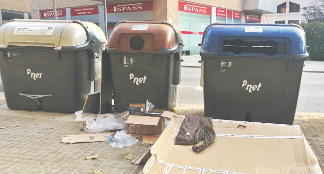 El Ple de l'Ajuntament de Sabadell dona compte del seguiment del servei de neteja i recollida d'escombraries