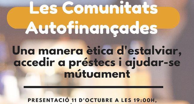 Xerrada sobre les comunitats autofinançades, a Can Puiggener