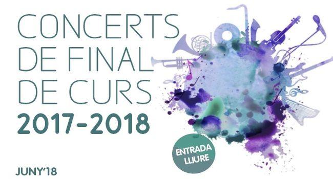 L'Escola Municipal de Música i Conservatori Professional inicia demà els concerts de final de curs