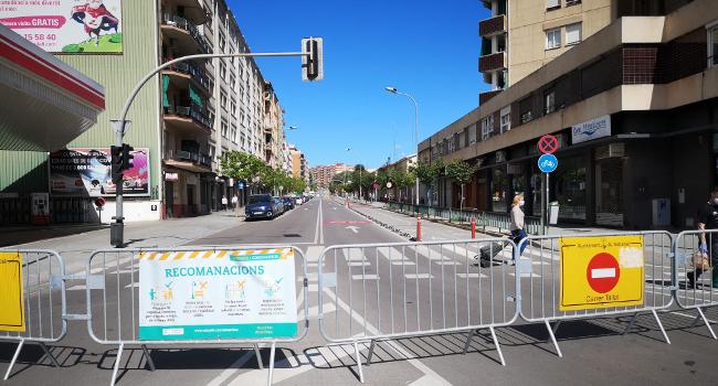 Les Avingudes de Matadepera i Concòrdia es reobriran al trànsit i al transport públic els dissabtes en període de prova