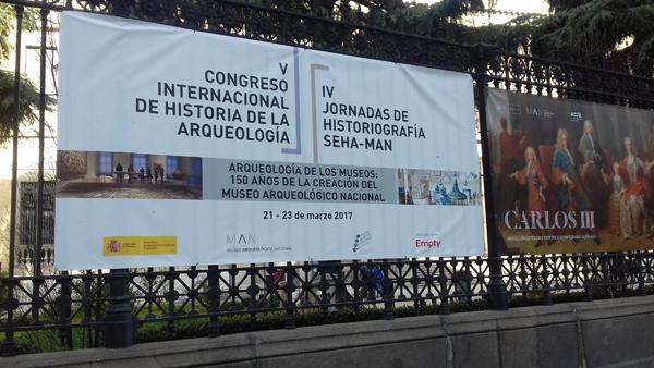 El Museu d'Història participa en un congrés internacional sobre arqueologia a Madrid