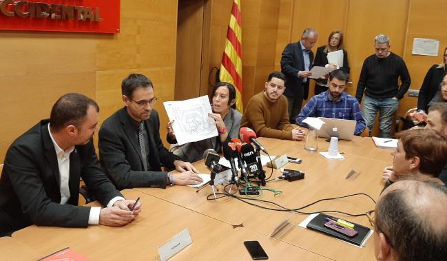 """Marta Farrés sobre la reivindicació de connectar el Vallès Occidental amb l'Aeroport del Prat amb RENFE: """"És un moment clau per demostrar que hi ha una vertebració del país més enllà de la centralitat de Barcelona"""""""