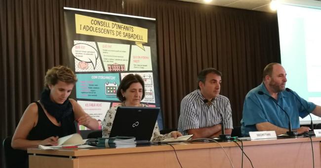 Escollits els representants del Consell dels Infants de Sabadell