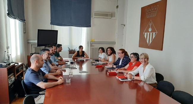 Queden constituïdes la Junta de Govern Local i la Junta de Portaveus de l'Ajuntament
