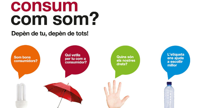 Exposició sobre drets i consum responsable en el marc del Dia Mundial del Consumidor