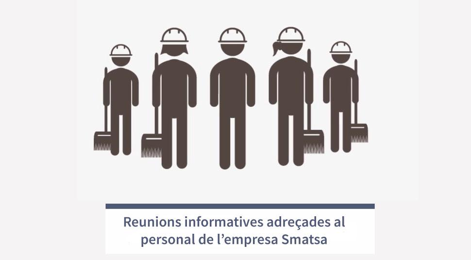 L'Ajuntament ha convocat al personal treballador de l'empresa Smatsa a dues reunions informatives
