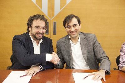 Ajuntament i Aigües Sabadell signen un conveni centrat en la protecció de les famílies vulnerables davant la pobresa energètica