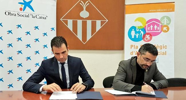 """Acord de col·laboració amb la Fundació """"La Caixa"""" per a la compra d'equipament informàtic del nou centre de Serveis d'Intervenció Socioeducativa del Nord"""