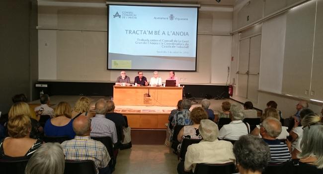 La Coordinadora de Casals de Gent Gran de Sabadell tanca el curs amb un intercanvi d'experiències a Igualada