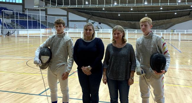 El Trofeu Internacional d'Esgrima aplega a Sabadell esportistes de més de 30 països