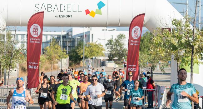 Els atletes Alberto Casado i Ingrid Herrera, millors temps de la 42ª Cursa Popular de Festa Major