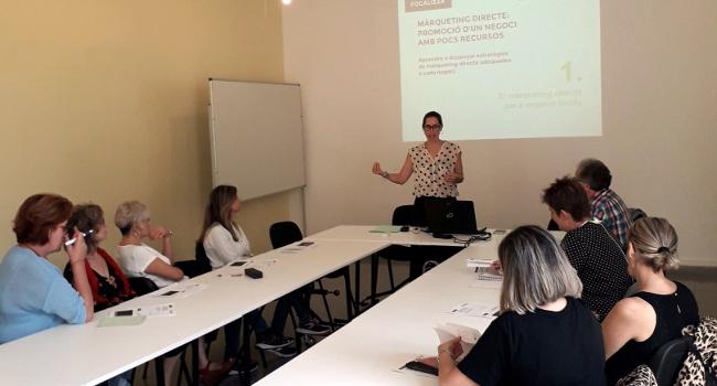 Sessió formativa sobre màrqueting directe adreçat a empresariat i comerciants