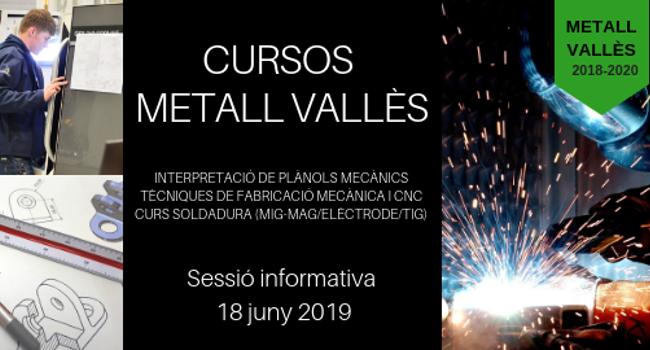 El projecte MetallVallès programa nous cursos per formar professionals en el sector del metall