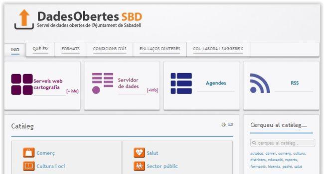 L'Ajuntament de Sabadell posa en marxa el nou portal de Dades Obertes