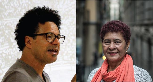 Visita de Sílvia Berrocal i Dimir Viana, reconeguts defensors dels drets humans