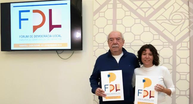 El Fòrum de Democràcia Local posarà a debat els models de participació ciutadana en la vida pública