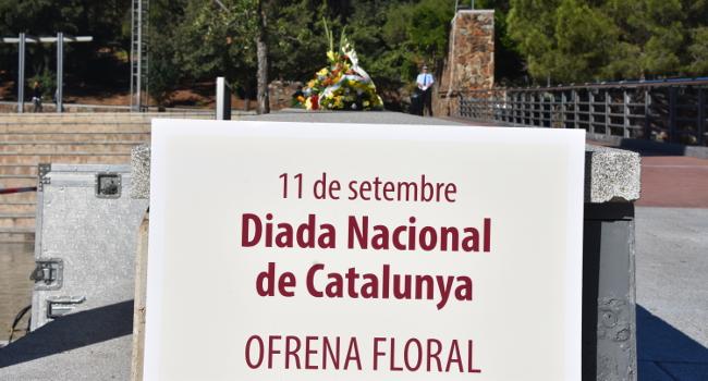 Acte institucional de la Diada Nacional de Catalunya, a l'avinguda de Macià