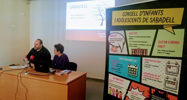 L'Ajuntament de Sabadell treballarà amb la infància i l'adolescència per generar ciutadania activa i cívica
