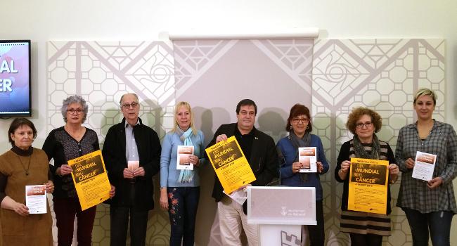 Entitats, Corporació Parc Taulí i l'Ajuntament commemoren conjuntament el Dia Mundial del Càncer a Sabadell