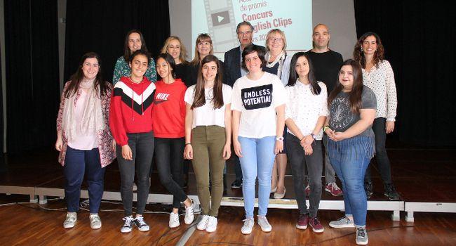 """""""Maryam, the history of my life"""", de dues alumnes del Col·legi Estel guanya el concurs de vídeos en anglès English Clips"""