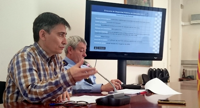 La ciutadania qualifica amb notable el nivell de seguretat a Sabadell