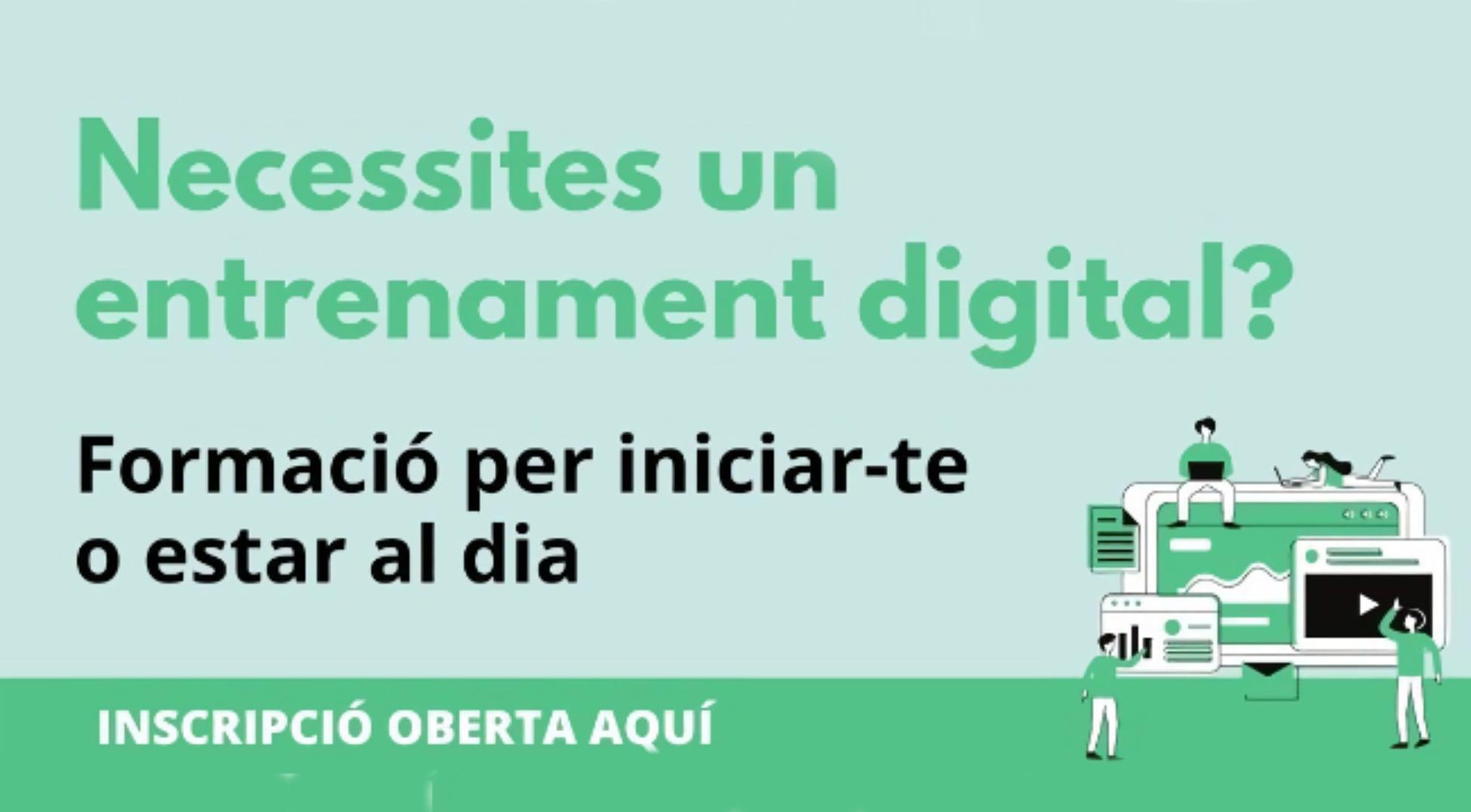Sabadell estrena un nou programa formatiu obert a persones en edat laboral per reduir la bretxa digital