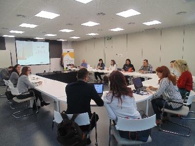 Trobada al Vapor Llonch de representants de vuit països europeus per iniciar una nova edició del projecte Erasmus per a Joves Emprenedors/es