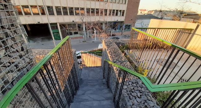 Les escales del carrer de Góngora ja estan acabades