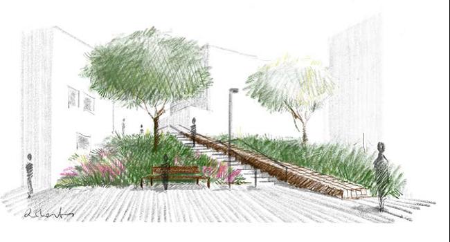 Comencen les obres de construcció de les noves escales entre els carrers dels Celtibers i del Maestrat
