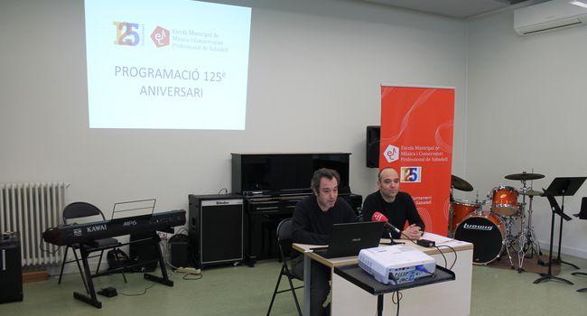 Més d'una vintena de propostes en el programa d'actes dels 125 anys d'història de l'Escola Municipal de Música