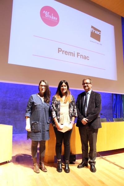 Una alumna de l'Escola Illa guanya un dels premis de la III Jornada d'Art i Disseny: De l'Escola a l'Empresa