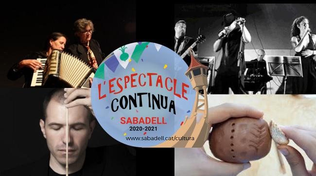 Un cap de setmana amb diferents propostes culturals als teatres municipals de Sabadell