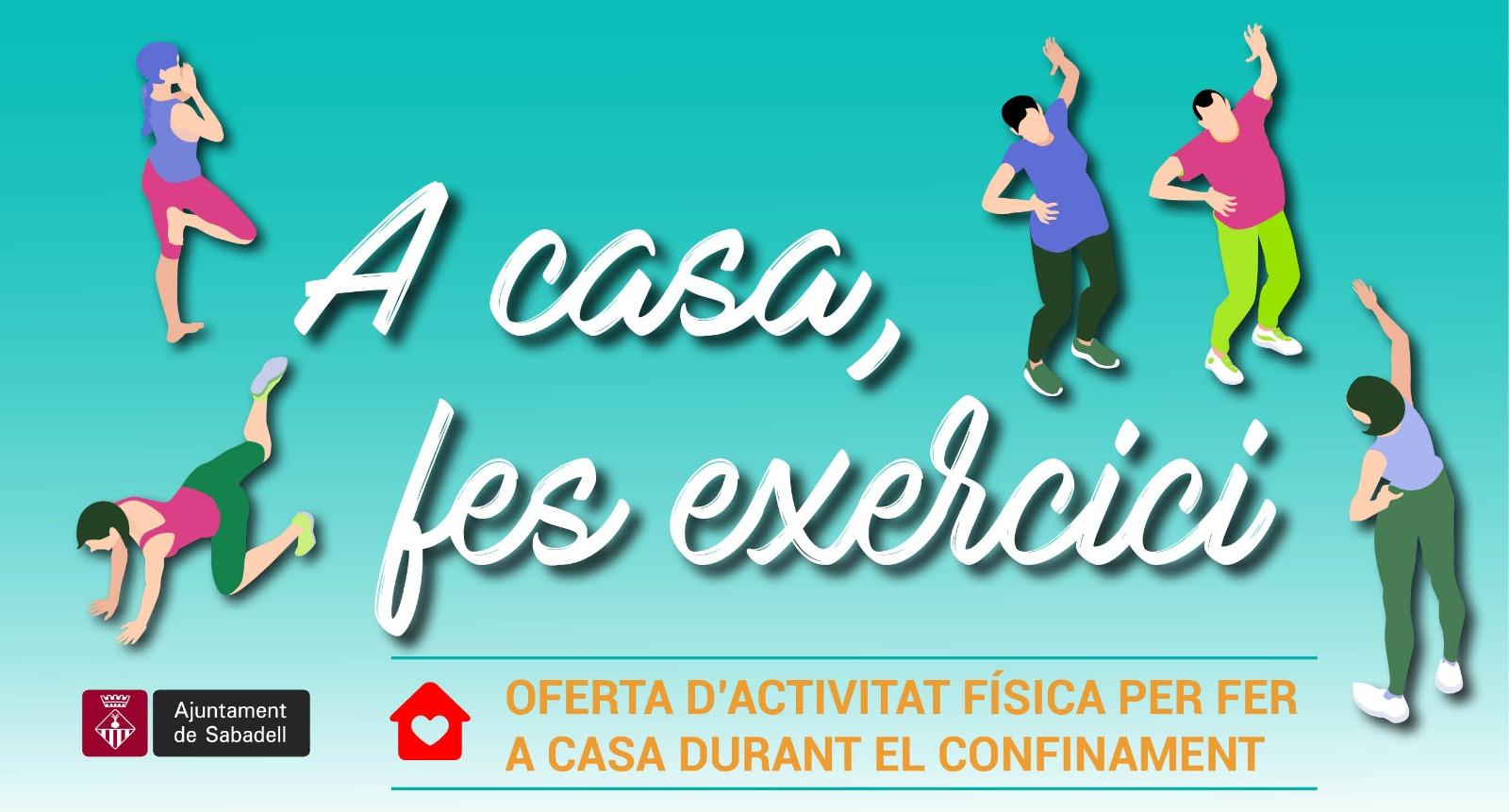 El web municipal obre un espai amb vídeos d'exercicis físics per fer a casa durant el confinament