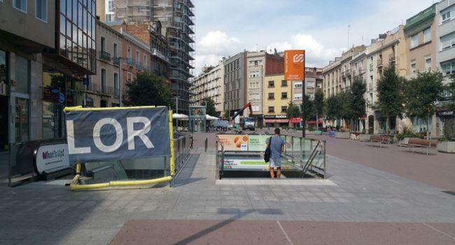 Durant tres nits, Ferrocarrils de la Generalitat instal·larà unes escales mecàniques a l'estació Sabadell Plaça Major