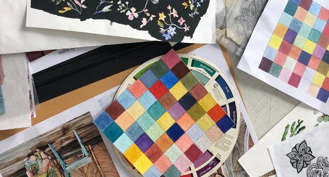 L'Escola Illa col·labora amb l'empresa Estampa Tu Tela per acostar l'alumnat al món de l'estampació tèxtil digital