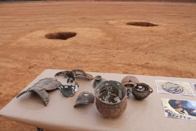 Descobertes 56 estructures del bronze final i de l'edat del ferro
