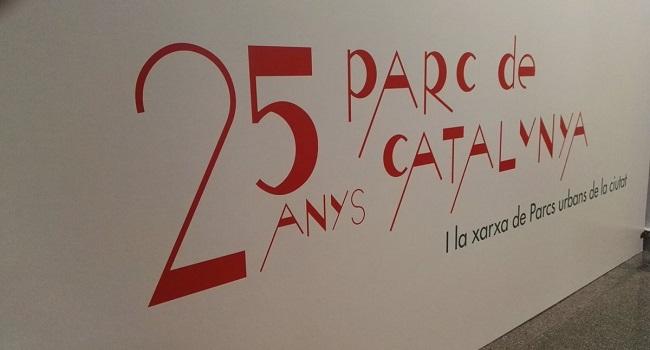"""Inauguració de l'exposició """"25 anys del parc de Catalunya i la xarxa de parcs urbans de la ciutat"""""""
