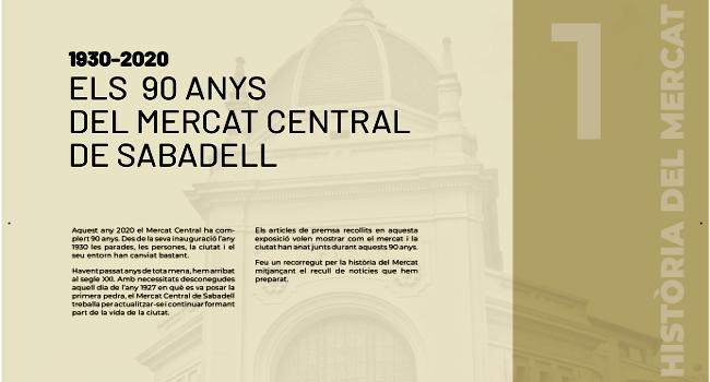 Una mostra retrospectiva recull els moments més importants de la història del Mercat Central