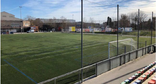 Els camps de futbol d'Arraona-Merinals renovaran la gespa artificial