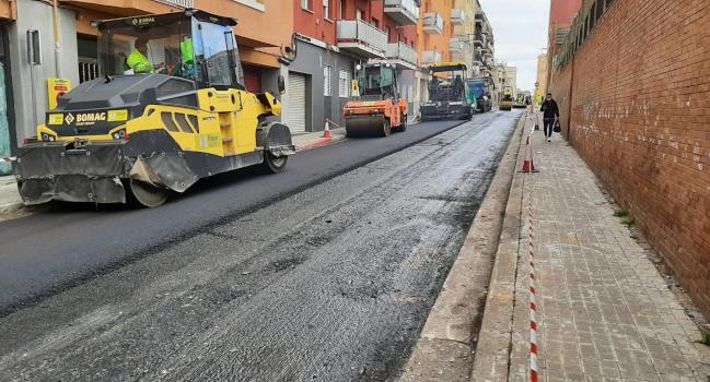 El pla de millora dels ferms comportarà talls de trànsit a diferents carrers durant aquesta setmana
