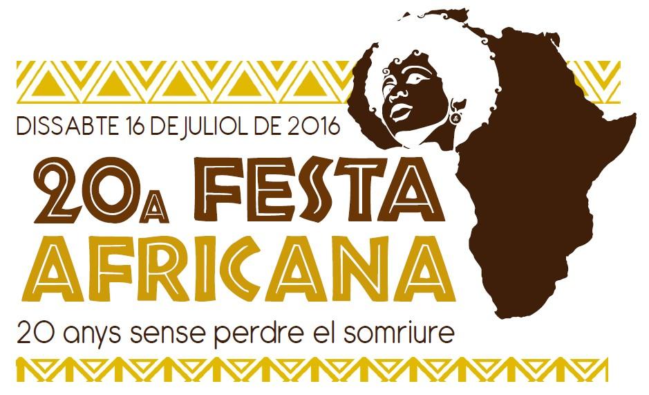 La Festa Africana celebra dissabte la vintena edició, sota el lema 20 anys sense perdre el somriure