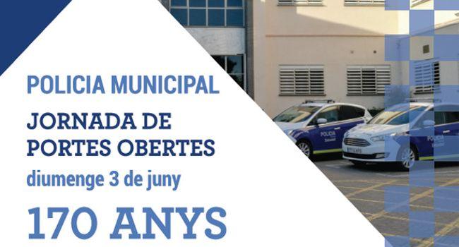 Acte institucional i jornada de portes obertes de la Policia municipal per commemorar el 170è aniversari del cos